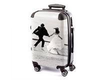 Valise avec photo cadeau de Noel pour son copain
