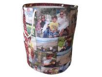 Wäschesack selbst gestalten Collage