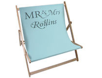 Wedding Double Deckchair Gift