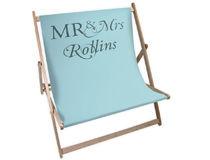 wedding gift deck chair