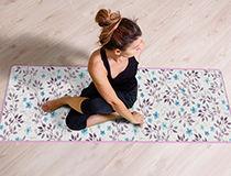 Yogamatte als Weihnachtsgeschenk für Mama