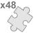 polymer jigsaw A4 size