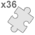 polymer jigsaw Large Square