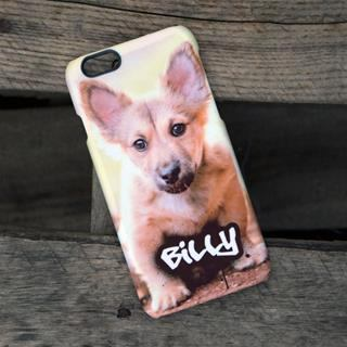 stampa foto cane su cover iphone