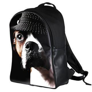 zaini personalizzati con foto cane