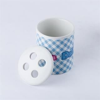 stampa su ceramica porta spazzolino