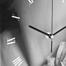 square wall clock roman numerals