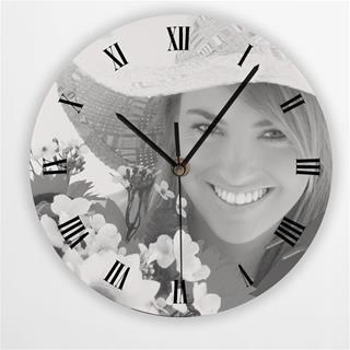 Personalised Round Clock