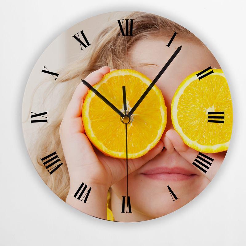 Orologio Personalizzato Rotondo Da Parete | Stampa con Foto e Scritte