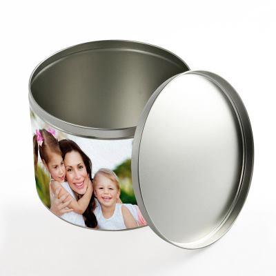 Large Round Tin