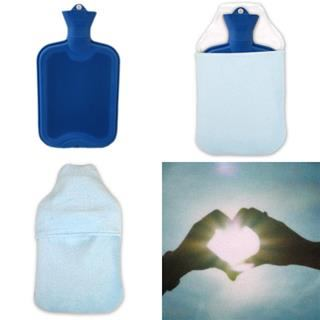 personalised hot water bottle bag