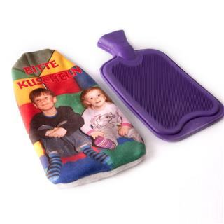 personalised hot water bottle pouch