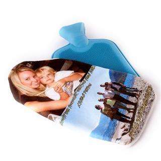 stampa con foto copri borsa acqua calda