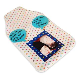 photo hot water bottle cover