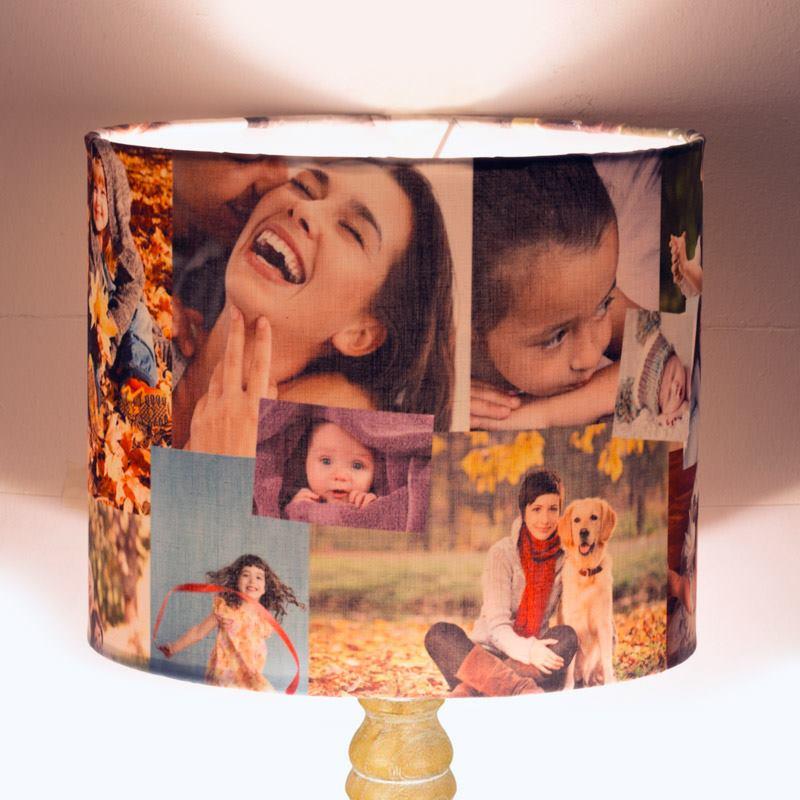 Foto Lampenschirm Bedrucken Foto Auf Lampenschirm Drucken