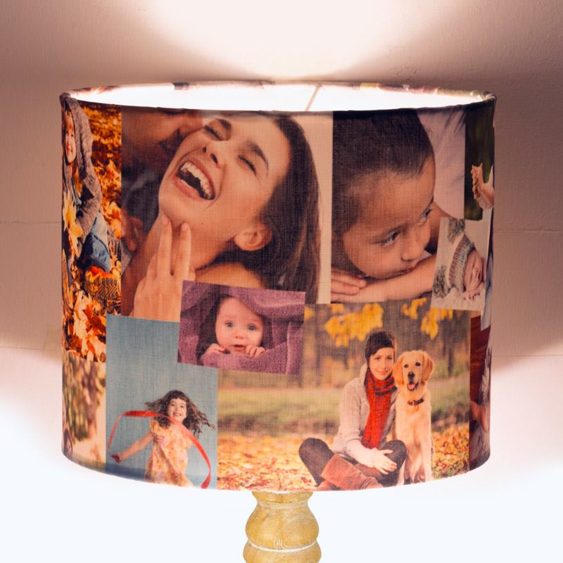 printed lampshade