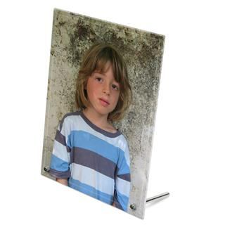 personalised photo glass frame