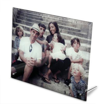 marco de vidrio familiar