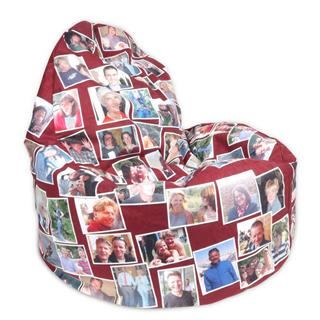 bean cushion collage design