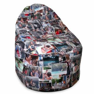 personalised bean bags photo collage