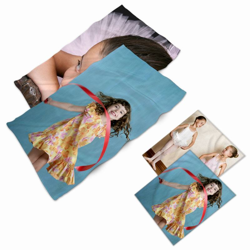 Personalized Face Towel Set With