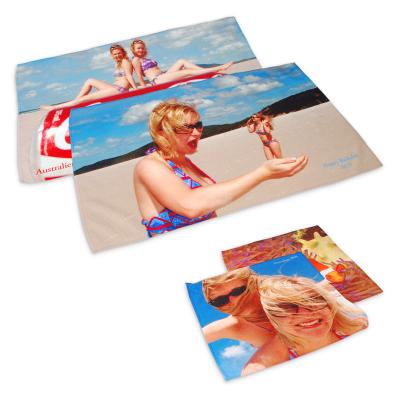 juego de toallas con fotos personalizables