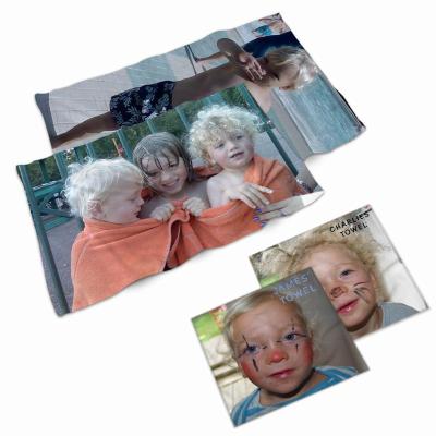 handtuch set mit fotos bedrucken lassen