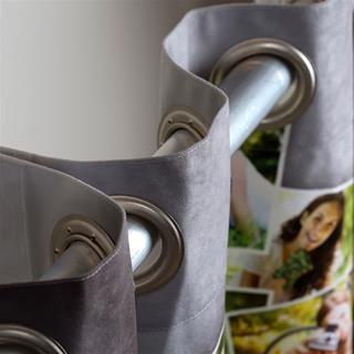 Custom Printed Curtains Details