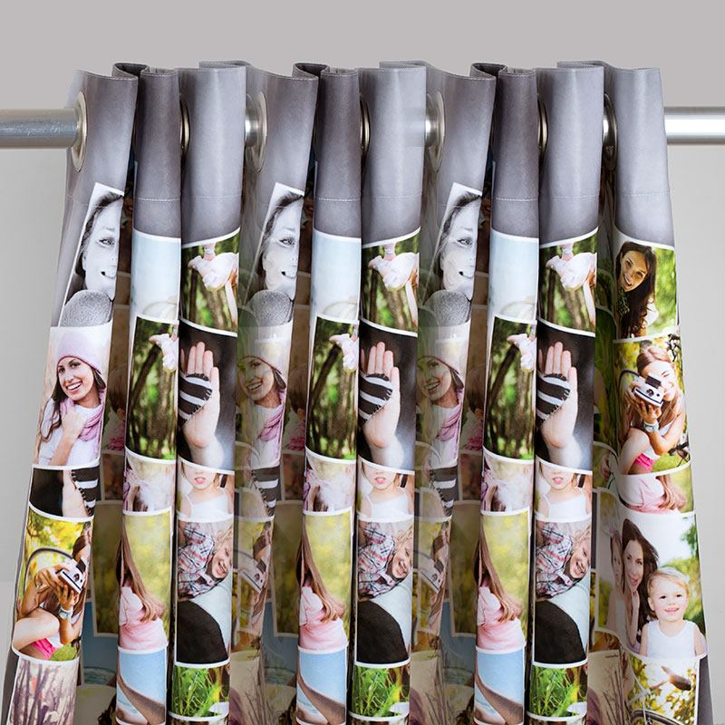 Attractive Photo Curtains Designed By You | Custom Curtains With Photos DP57