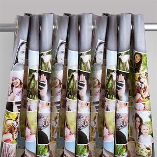 Custom Printed Curtains Collage