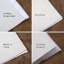 デザインカーテン 厚みのオプション
