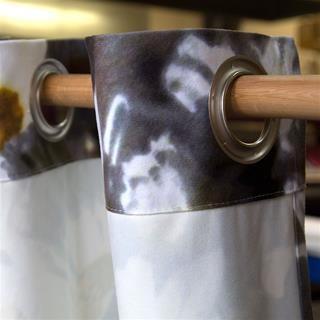 rideaux photo tissu de qualité