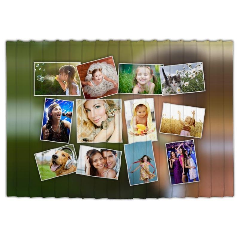Op maat gemaakte gordijnen met jouw foto u0026#39;s en ontwerp