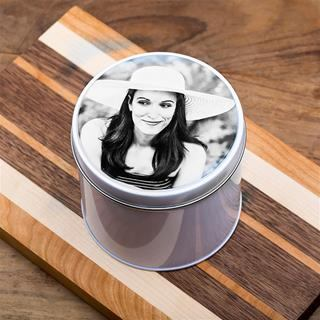 Print Photo on Small Tin