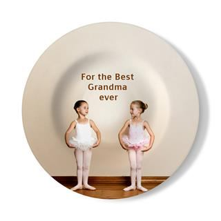 personalised wall plate
