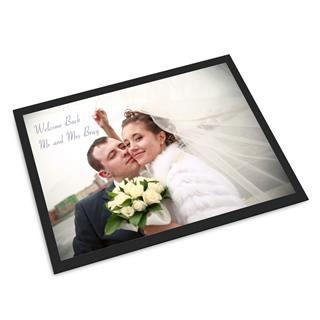 felpudo personalizado con foto boda