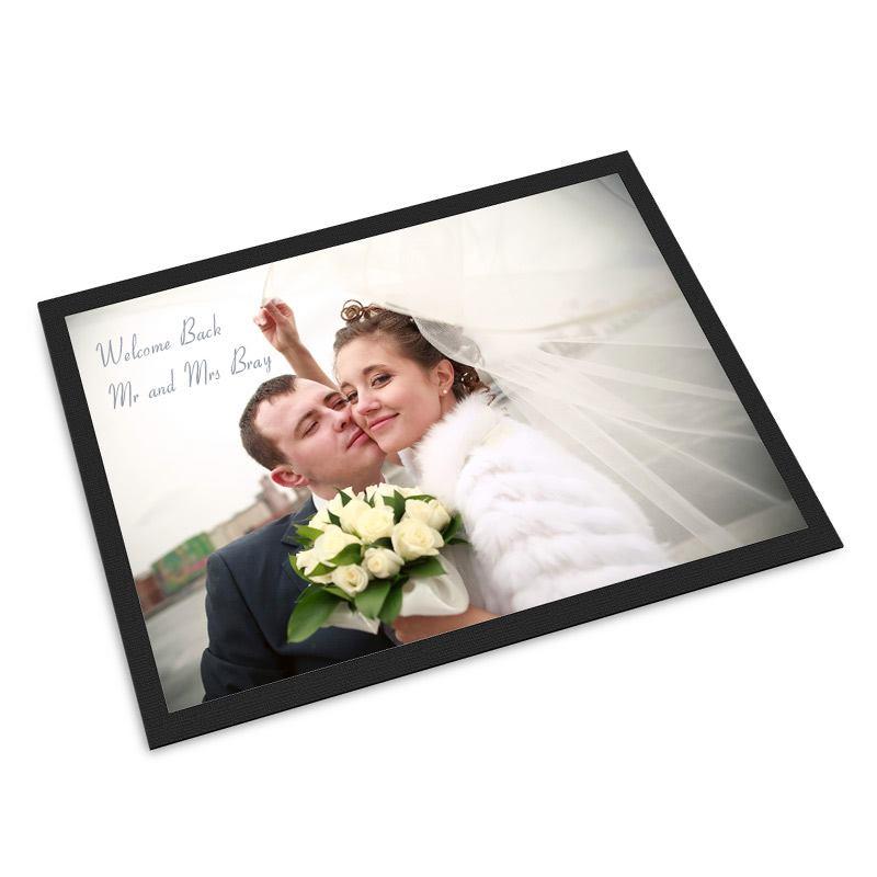personalisierte fu matte selbst gestalten mit fotos text. Black Bedroom Furniture Sets. Home Design Ideas