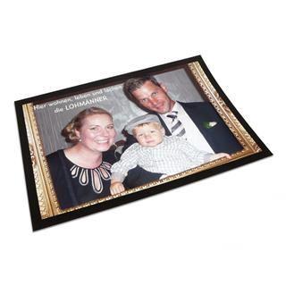 Personalisierte Fußmatte mit Fotos gestalten