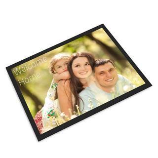Personalisierte Fußmatte mit Fotos und Text selbst gestalten