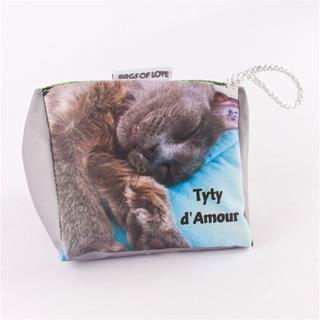 Custom Pyramid Doorstop cat