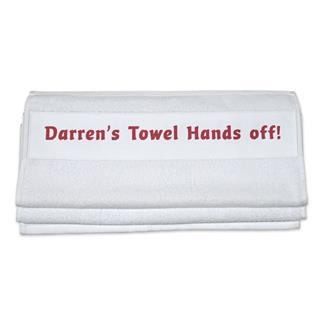 bespoke named towels