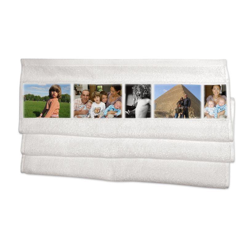 handtuch selbst gestalten mit fotos text bedrucken. Black Bedroom Furniture Sets. Home Design Ideas