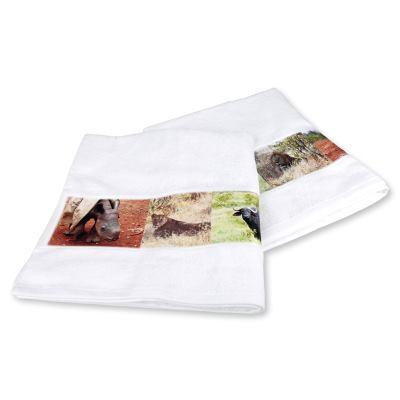 Handdukar med eget tryck