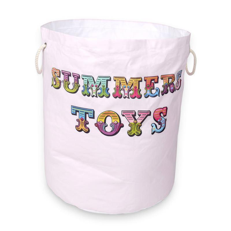 cesta portagiochi personalizzata