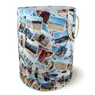 personalised photo montage laundrybag