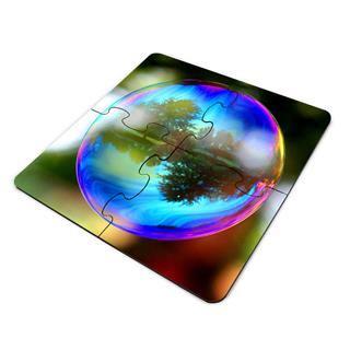Dessous de verre puzzle personnalisé