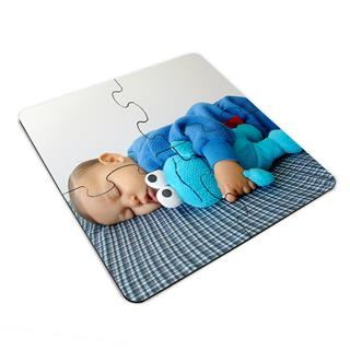 cute jigsaw coasters personalised