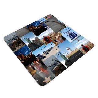 Dessous de verre puzzle montage photo
