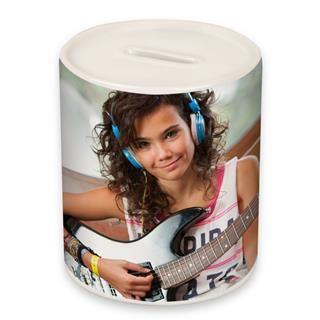 salvadanaio con foto personalizzato