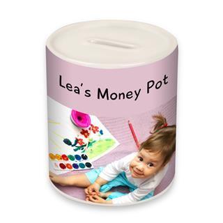 ceramic money pot